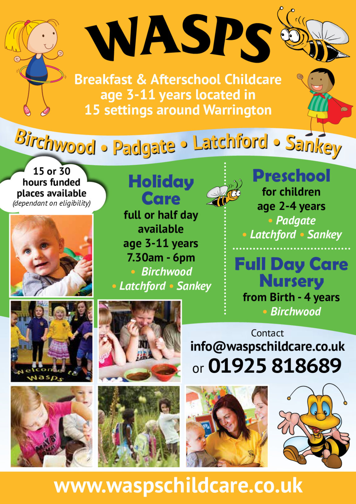 Website Update – Preschool Flyer