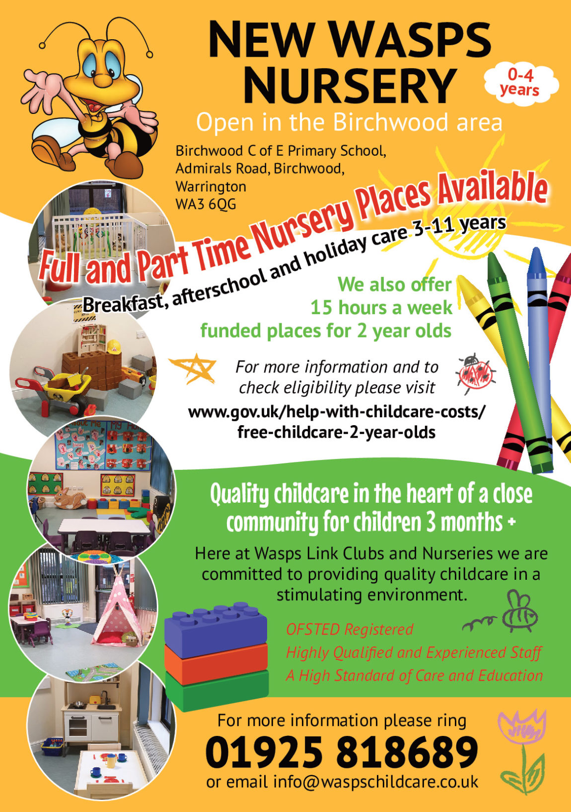 Full Day Care Nursery Opening